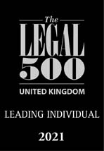 The Legal 500 Leading Individual 2021
